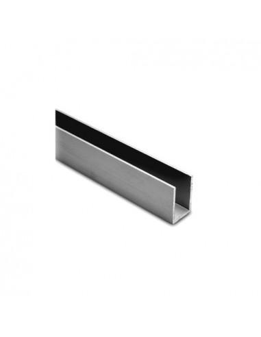 aluminium u profil 15 15 15 2mm elox chrom. Black Bedroom Furniture Sets. Home Design Ideas